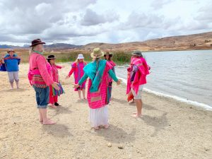 October's EL•AN•RA Ceremonies at the Heart of AN: The Sacred Lake of EL ~ Laguna Huaypo - Part Two
